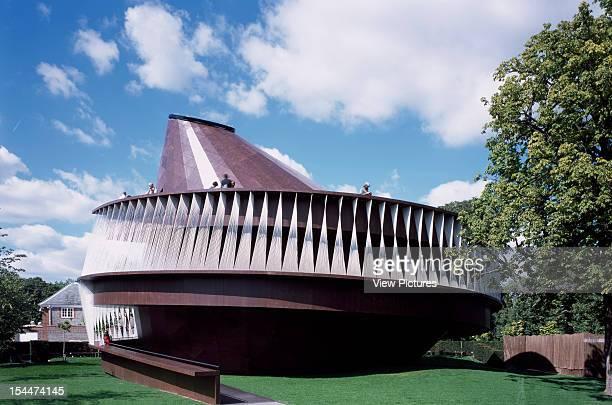 Serpentine Gallery Summer Pavilion 2007 London United Kingdom Architect Olafur Eliasson And Kjetil Thorsen Serpentine Gallery Pavilion 2007 East...