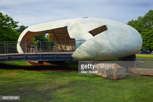 Serpentine Pavilion designed by Smiljan Radic