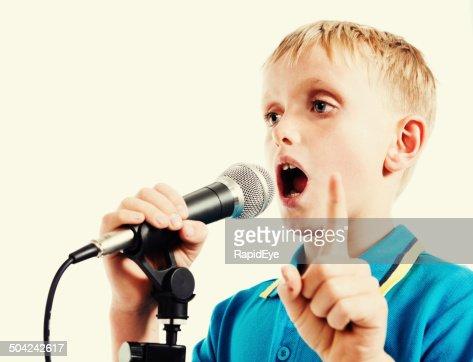 Making speech