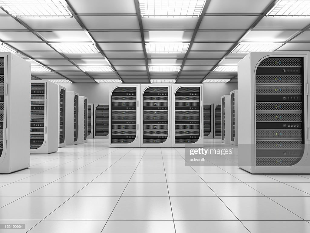 Server room : Stock Photo