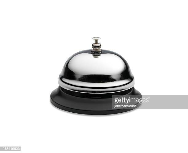 Service bell isolated on white