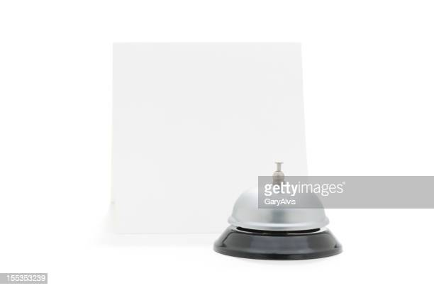 service bell with clipping path