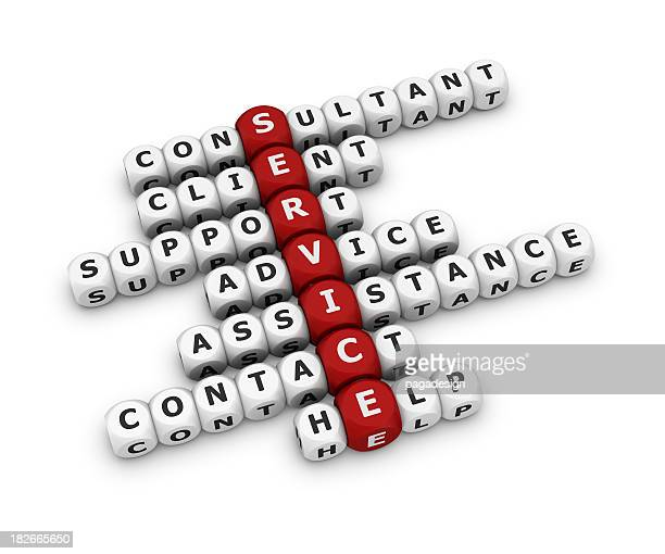 service crossword