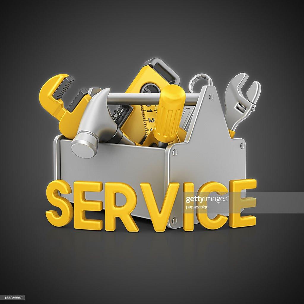 service toolbox : Stock Photo