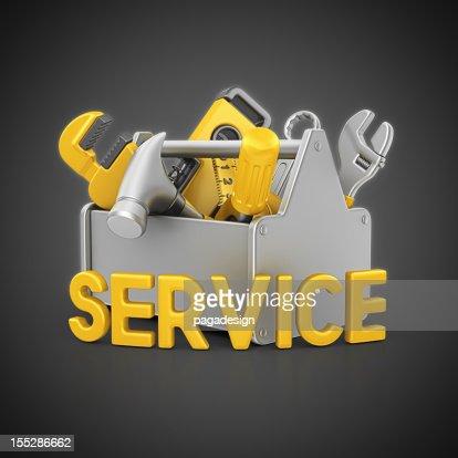 service toolbox : Bildbanksbilder