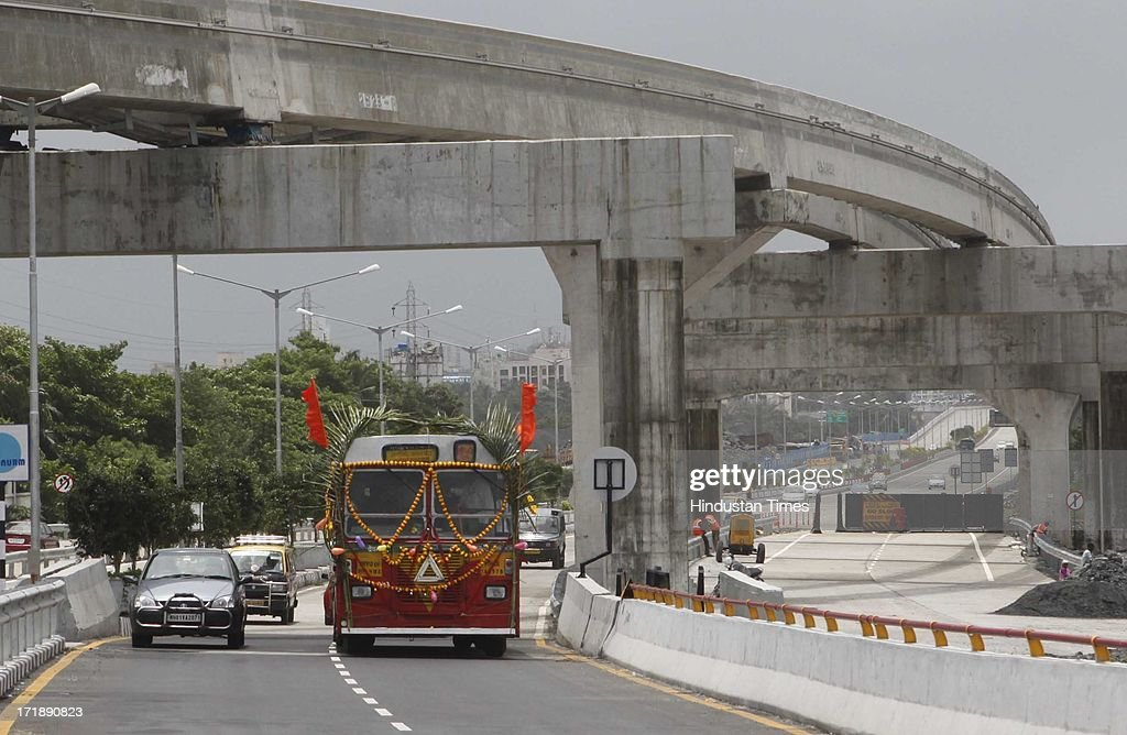 BEST service was started on Eastern Freeway on June 29, 2013 in Mumbai, India. Brihanmumbai Electricity Supply and Transport will operate total eight services between Mantralay to Shivaji Nagar and Vashi to World Trade Centre, respectively via the Eastern Freeway.