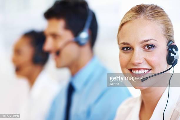 Un Service avec le sourire