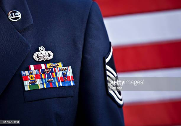 US Serviceman In Formal Dress