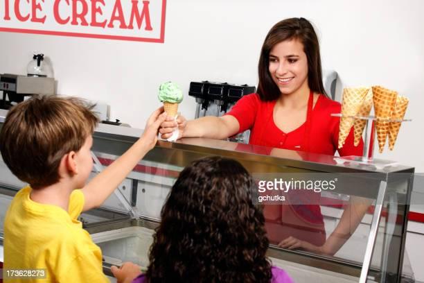 Mit dem Ice Cream Cone