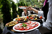 Serving tasteful food, selective focus, canon 1Ds mark III