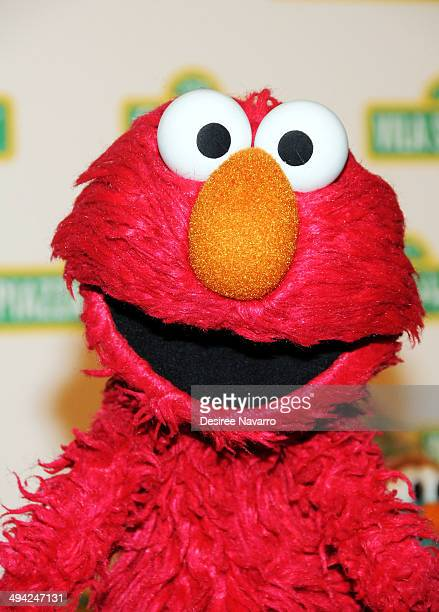 Sesame Street muppet 'Elmo' attends the 12th Annual Sesame Workshop Benefit Gala at Cipriani 42nd Street on May 28 2014 in New York City