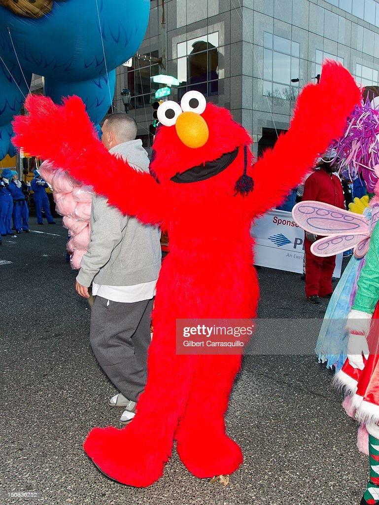 Sesame Street's Elmo attends the 93rd annual Dunkin' Donuts Thanksgiving Day Parade on November 22, 2012 in Philadelphia, Pennsylvania.