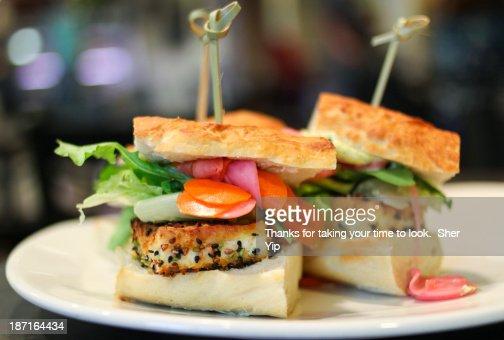 Sesame Tofu Sliders