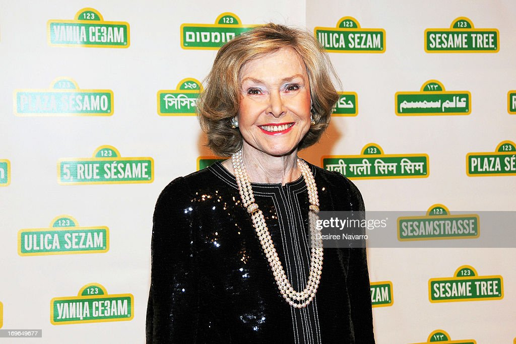 Sesame Workshop founder Joan Ganz Cooney attends the 11th annual Sesame Street Workshop Benefit Gala at Cipriani 42nd Street on May 29, 2013 in New York City.