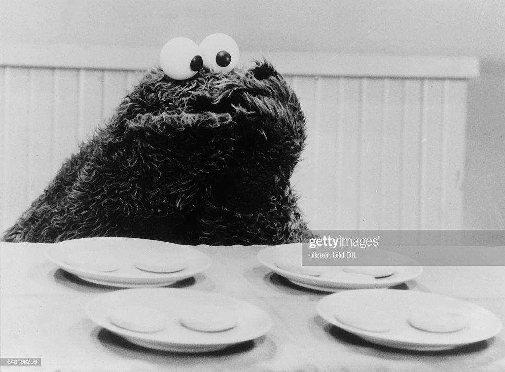 'Sesamstrasse': Das Krümelmonster zählt Kekse - 1973