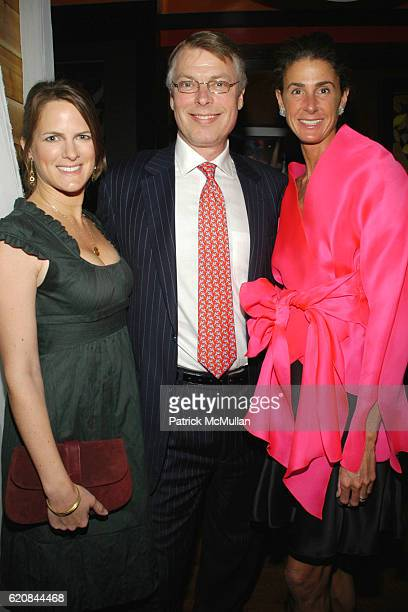 Sessa von Richthofen Richard Johnson and Somers Farkas attend An Intimate Evening of Food Fashion and Gossip with the Inimitable Jackie Rogers at...