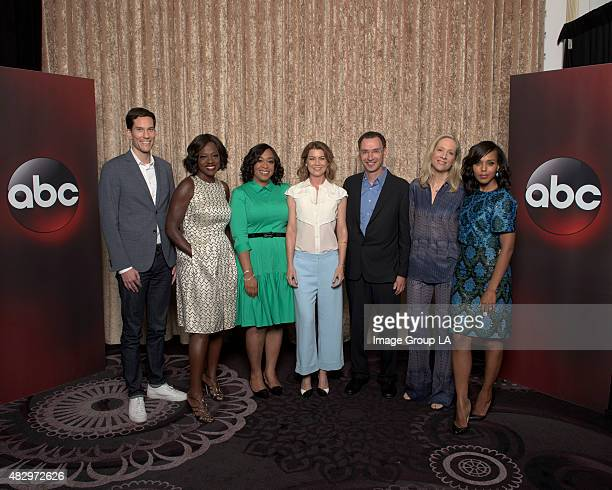 TOUR 2015 'TGIT' Session The cast and producers of ABC's 'Grey's Anatomy' 'Scandal' and 'How to Get Away with Murder' at Disney | ABC Television...