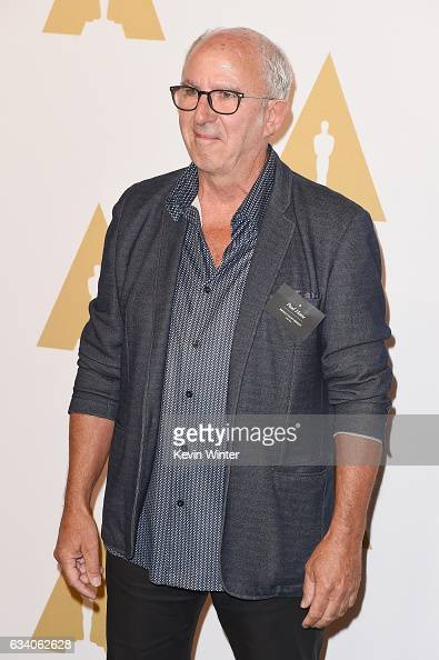 Set decorator Paul Hotte attends the 89th Annual Academy Awards Nominee Luncheon at The Beverly Hilton Hotel on February 6 2017 in Beverly Hills...