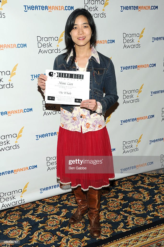 Set designer Mimi Lien attends The 2013 Drama Desk Nominees Reception at JW Marriott Essex House on May 8, 2013 in New York City.