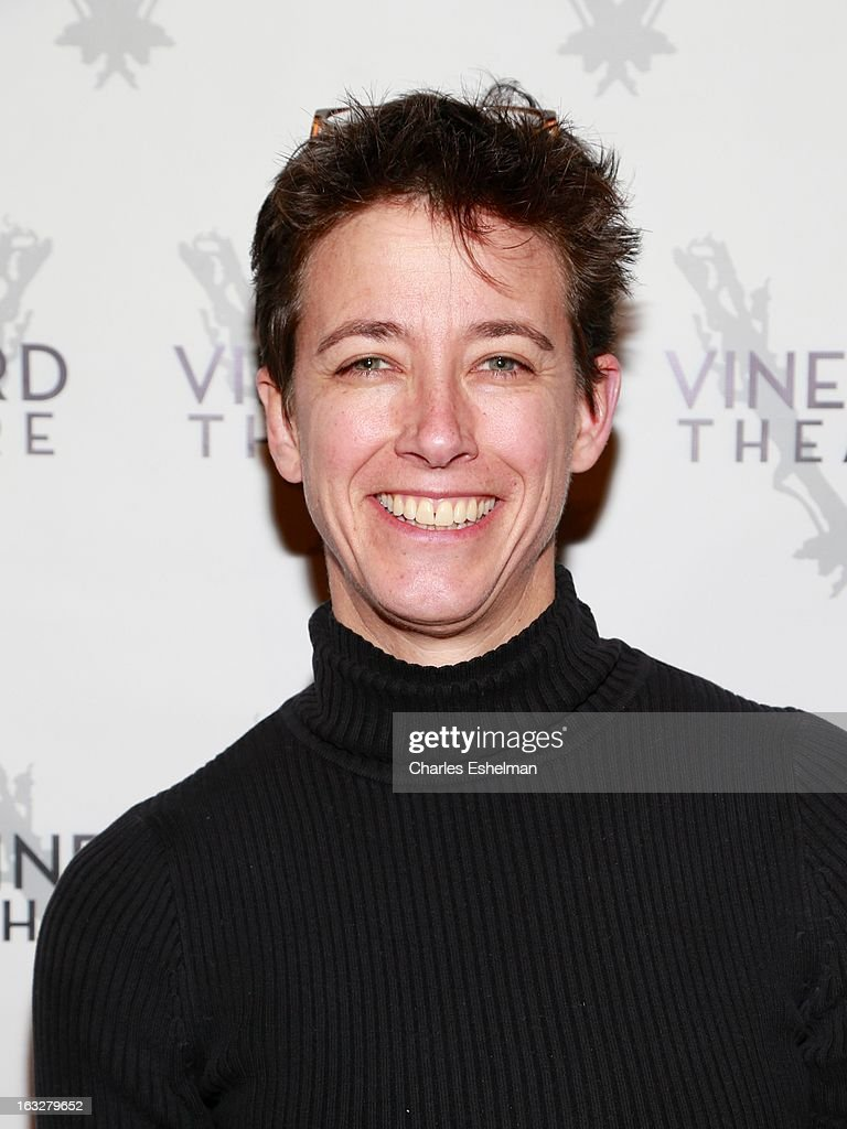 Set designer Rachel Hauck attends the off Broadway opening night of 'The North Pool' at Vineyard Theatre on March 6, 2013 in New York City.