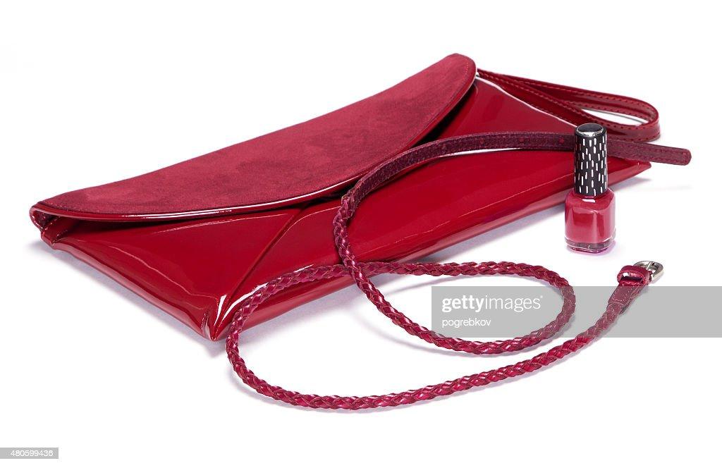 Set of beautiful fashion accessories : Stock Photo