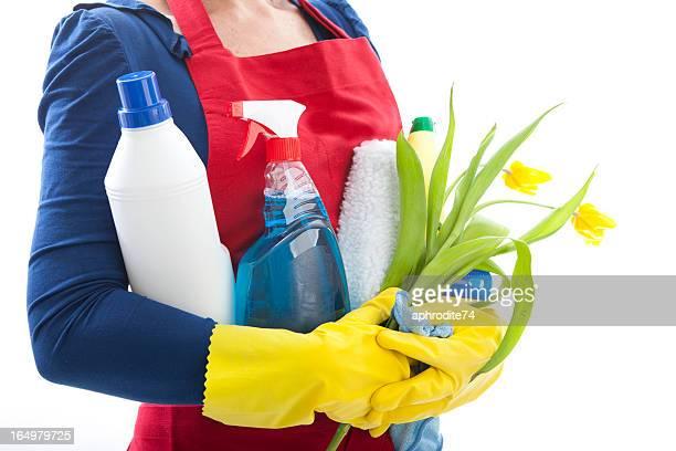 Ensemble de produits de nettoyage