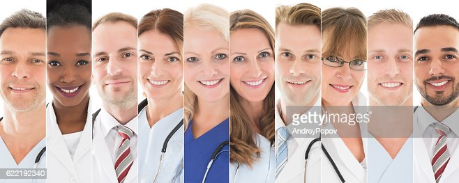 Set Of Doctors : Foto stock