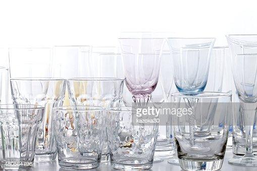 set of glass : Stock Photo