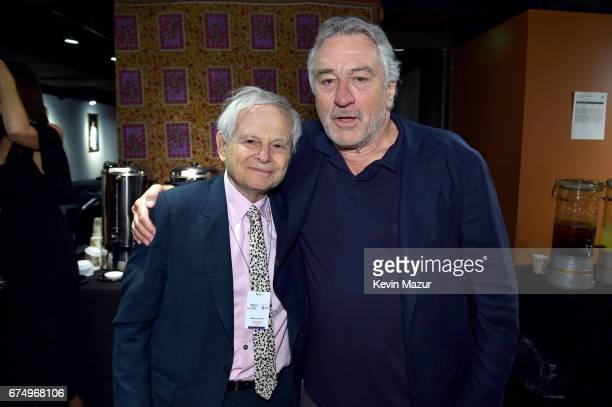 Set Photographer Steve Schapiro and Actor Robert DeNiro attend 'The Godfather' 45th Anniversary Screening during 2017 Tribeca Film Festival closing...