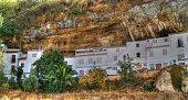 Setenil de las Bodegas is a spectacular village embedded in the rocks in the Sierra de Cadiz