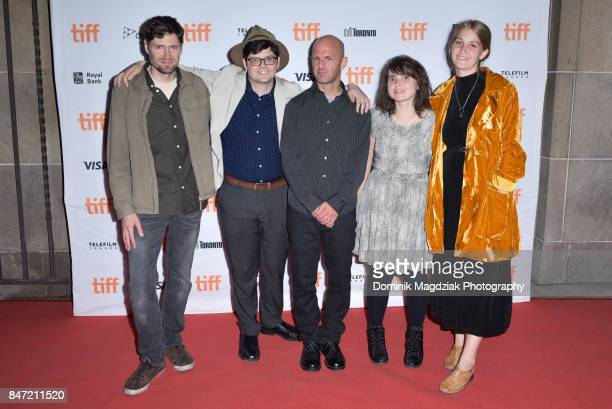 Seth A Smith Peter Kuplowsky Darcy Spidle Nancy Urich and Danika Vandersteen attend 'The Crescent' premiere during 2017 Toronto International Film...