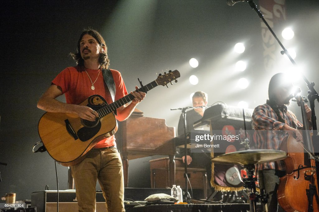 Seth Avett of the Avett Brothers performs live at ACL Live at the Moody Theater during the SxSW Music Festival on March 15, 2017 in Austin, Texas.