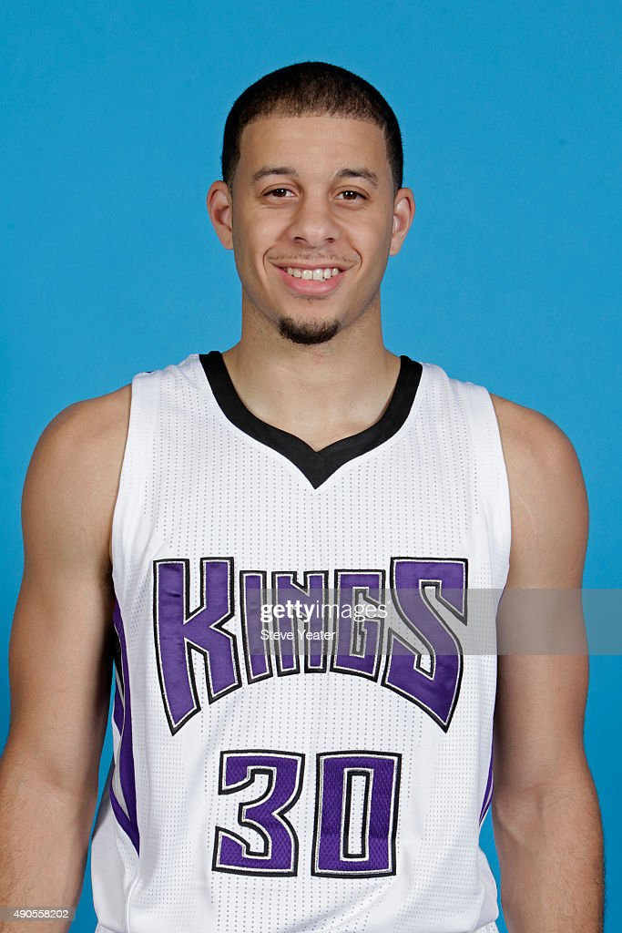 <a gi-track='captionPersonalityLinkClicked' href=/galleries/search?phrase=Seth+Curry&family=editorial&specificpeople=5945068 ng-click='$event.stopPropagation()'>Seth Curry</a> #30 of the Sacramento Kings poses for a head shot on media day September 28, 2015 at the Kings practice facility in Sacramento, California.