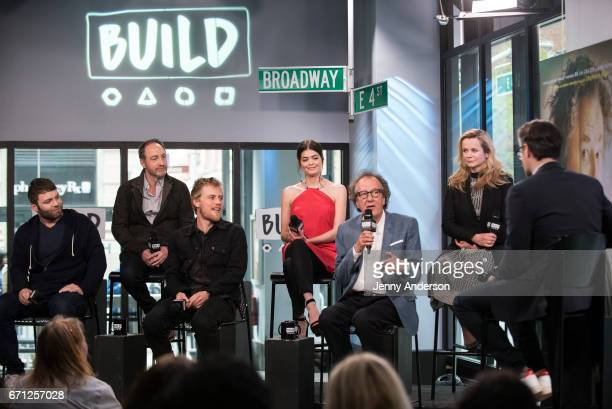Seth Gabel Michael McElhatton Johnny Flynn Samantha Colley Geoffrey Rush and Emily Watson attend AOL Build Series to discuss their new series...