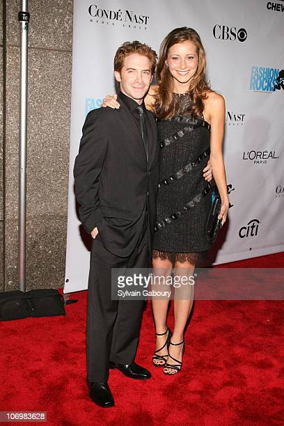 Seth Green and Candace Bailey during Conde Nast Media Group Kicked off Fashion Week with the Third Annual 'Fashion Rocks' Concert Arrivals at Radio...