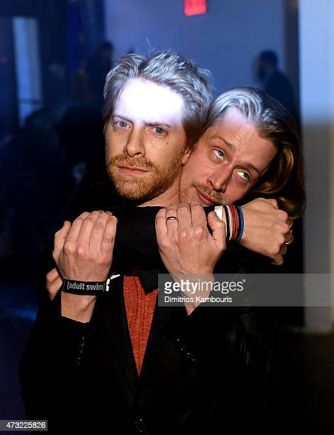 Seth Green and Macaulay Culkin attend the 2015 Adult Swim Upfront Party at Terminal 5 on May 13 2015 in New York City 25515_002_0232JPG