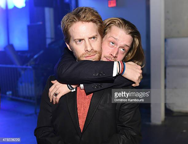 Seth Green and Macaulay Culkin attends the 2015 Adult Swim Upfront Party at Terminal 5 on May 13 2015 in New York City 25515_002_0227JPG