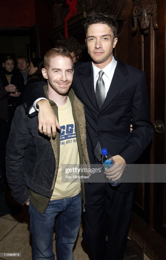 Seth Green and Topher Grace during 'In Good Company' Los Angeles Premiere Sponsored by Teen Vogue and DKNY Jeans After Party at The Highlands in...
