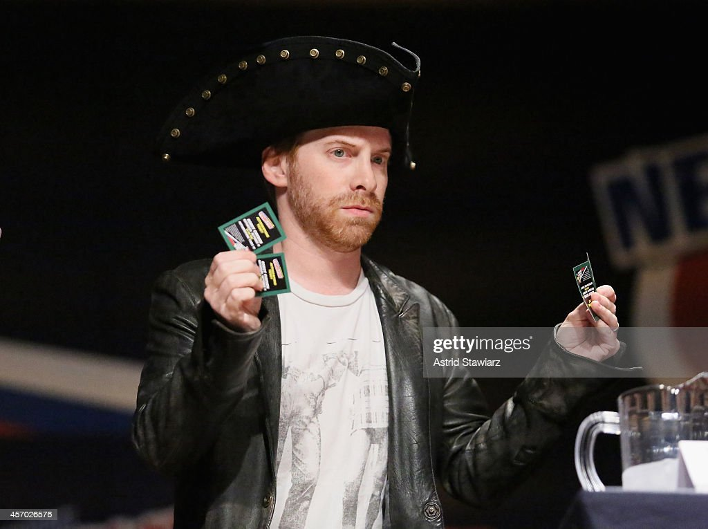 Seth Green attend The Adult Swim RobotChicken Panel At New York Comic Con 2014 at Jacob Javitz Center on October 10 2014 in New York City...