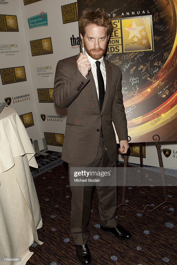 Seth Green attends Critics' Choice Television Awards VIP Lounge on June 10, 2013 in Los Angeles, California.