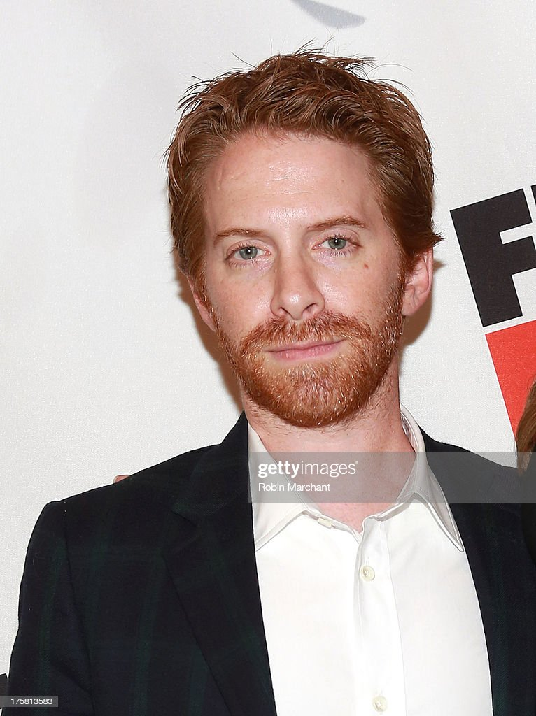 <a gi-track='captionPersonalityLinkClicked' href=/galleries/search?phrase=Seth+Green&family=editorial&specificpeople=206390 ng-click='$event.stopPropagation()'>Seth Green</a> attends 'First Date' Broadway Opening Night at Longacre Theatre on August 8, 2013 in New York City.