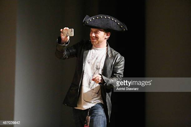 Seth Green attends The Adult Swim RobotChicken Panel At New York Comic Con 2014 at Jacob Javitz Center on October 10 2014 in New York City...