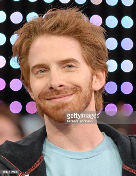 Seth Green during Kelly Slater and Seth Green Visit MTV's 'TRL' March 24 2006 at MTV Studios Times Square in New York City New York United States