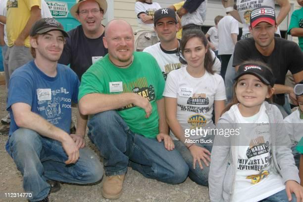 Seth Green John Carroll Lynch Danny Pino Laura Breckenridge Todd Grinell and Ariel Gade