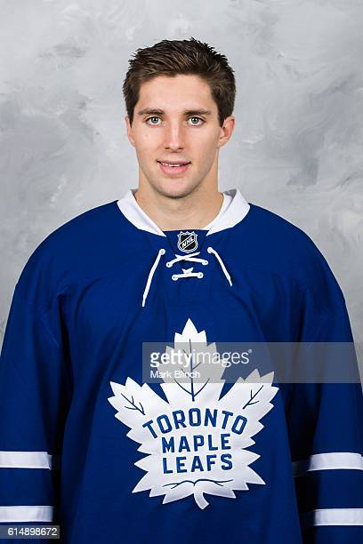 Seth Griffith of the Toronto Maple Leafs poses for his official headshot for 20162017 season at the MasterCard Centre on October 14 2016 in Toronto...