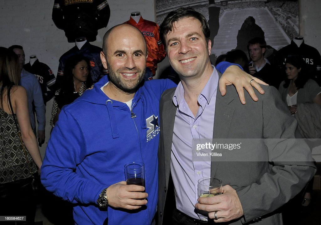 Seth Horowitz and Vince Winters attend Starter Parlor - Super Bowl XLVII on February 2, 2013 in New Orleans, Louisiana.