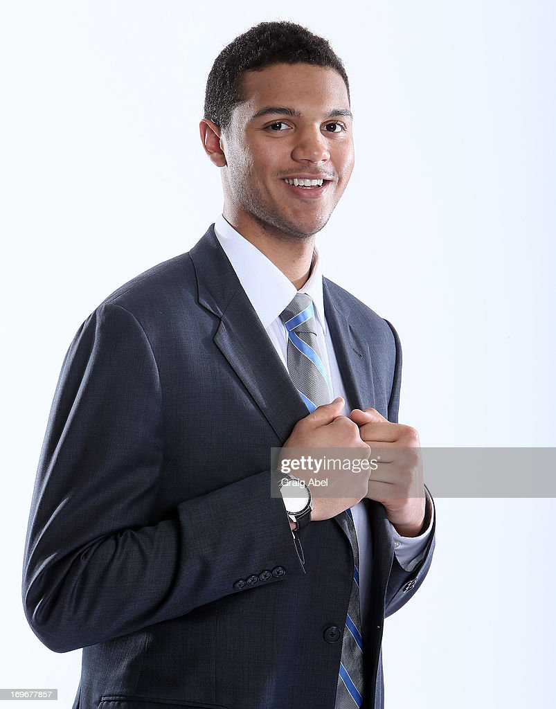 Seth Jones has his formal portrait taken during the 2013 NHL Combine May 30, 2013 at the Westin Bristol Place Hotel in Toronto, Ontario, Canada.