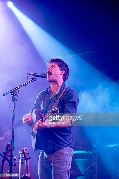 Seth Lakeman performs at the Union Chapel on December 13 2016 in London England