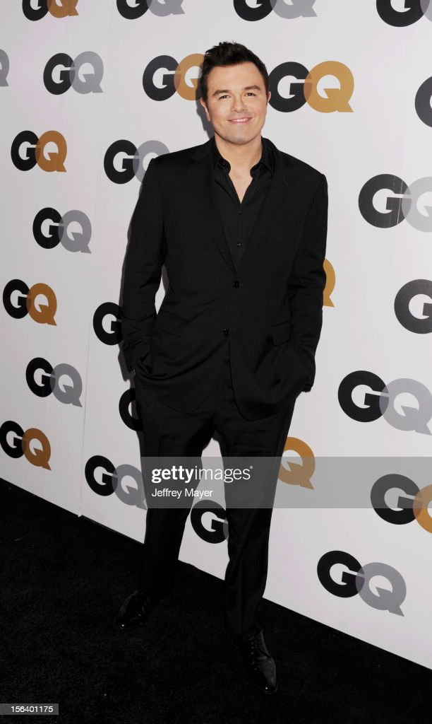 Seth MacFarlane arrives at the GQ Men Of The Year Party at Chateau Marmont Hotel on November 13, 2012 in Los Angeles, California.