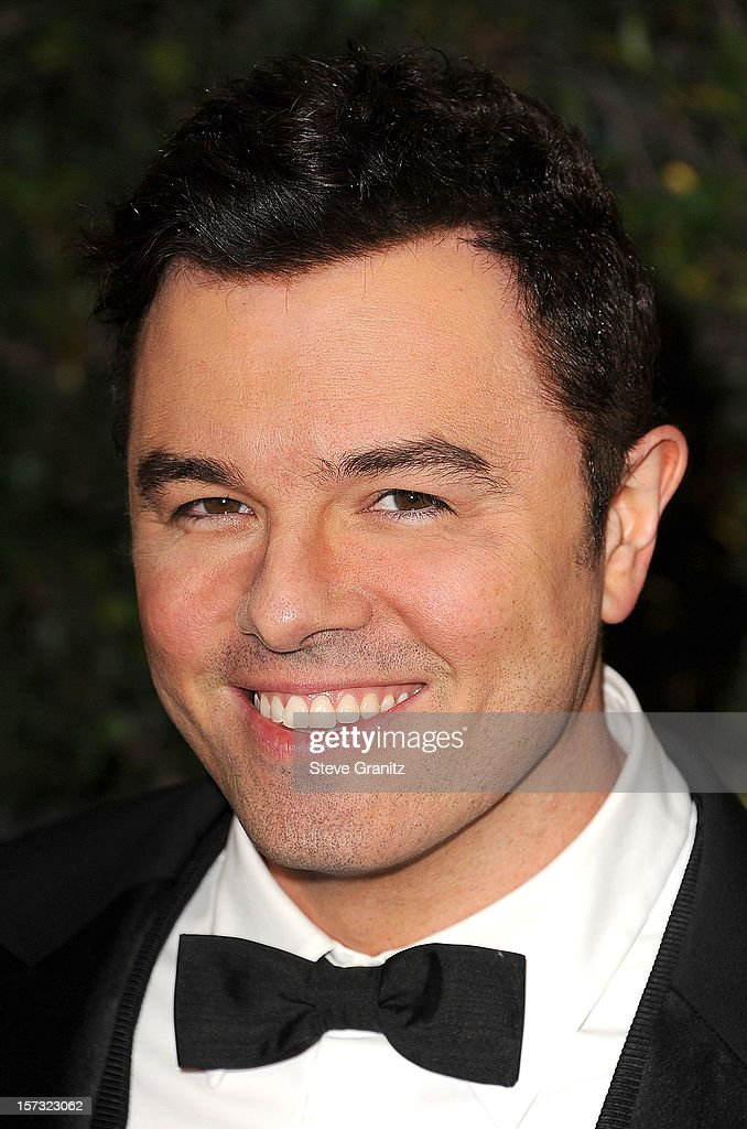 Seth MacFarlane arrives at the The Academy Of Motion Pictures Arts And Sciences' Governors Awards at The Ray Dolby Ballroom at Hollywood & Highland Center on December 1, 2012 in Hollywood, California.